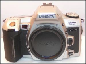 1998 : dynax 505si super (silver)